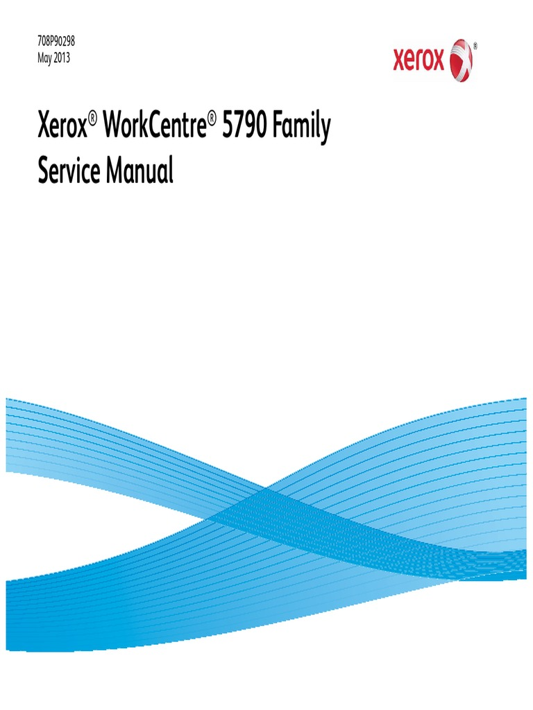 XEROX WC5790.pdf | Electrostatic Discharge | Occupational Safety And Health