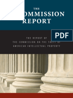 Ip Commission Report 2013