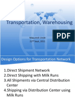 Transportation Warehousing Class8