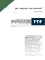 Dialnet-HegelYElFinDeLaArquitectura-3984905