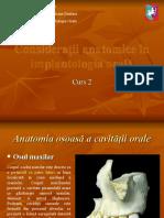Curs 02 - Consideratii Anatomice