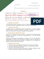 Syllabus 2015 -2016 Primer Semestre Verónica