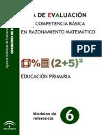 GuiaEvaluacionRazonamientomatematicoPrimaria