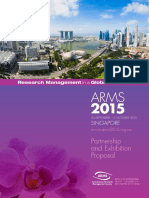 ARMS 2015 Partnership and Exhibition Proposal