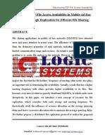 LSJ1504 - Maximizing P2P File Access Availability