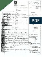 Pietro Pacciani - Sentenza di Primo Grado per il Delitto di Tassinaia