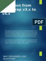 Migration from Bootstrap v3 to v4