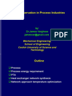 Energy Conservation in Process Industries