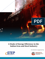 Analysis of Energy Efficiency in Steel Plant
