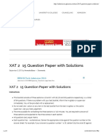XAT 2015 Question Paper with Solutions.pdf