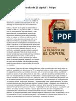 Epílogohttp://marxismocritic a La Filosofía de El Capital Felipe MartinezMarzoa