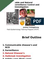 Pertemuan I (Communicable Disease Epidemiology, Surveilans and Control)