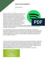 Spotify Premium Gratis en pocas palabras