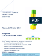 10 COSO 2013 Updated Internal Control Framework