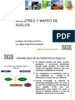 muestreo y mapeo DE suelos - UNC