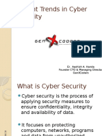 Cyber Security Trends in India - GenXCoders