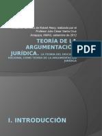 Resumen de la Teoría de la argumentación jurídica de ALEXY (JCSC)
