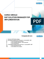 Curso SAP Solution Manager
