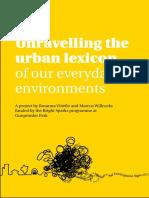 Urban Lexicons