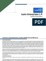 IEP Aug 2015 - Investor Presentation FINAL