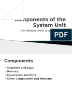 components of the system unit