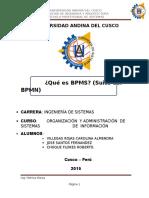 Qué Es BPMS (Suite Del BPMN)