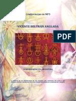 Vicente Beltrán Anglada - Conferencias en Argentina Mp3