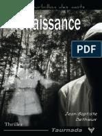 EXTRAIT du roman « Renaissance » de Jean-Baptiste Dethieux