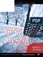 EXTRAIT du roman « Sang blanc » de Noémi Krynen
