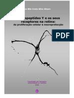 Neuropeptídeo Y e os seus receptores na retina
