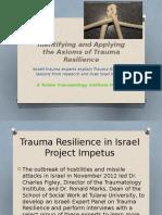 traumatology institute - israeli trauma resilience study final