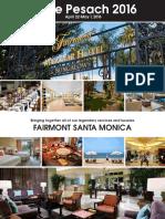 2016 Fairmont Santa Monica Brochure