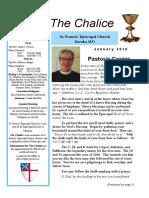 January 2016 Chalice newsletter of St. Francis' - Eureka