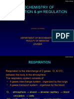 Bioch.of Respiration & PH Regulation SA, 2015(Pre U)