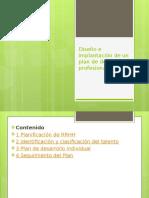 22122015 Sesión Vi Diseño e Implantacion de Un Plan de Desarrollo Profesional
