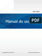Samsung Galaxy S6 Edge User Manual SM G925 Lollipop Brazilian Portuguese Language