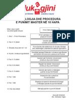 Procedura Ne 10 Hapa e Programit Master