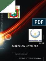 DIRECCION Y GERENCIA HOTELERA