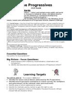 progressives unit guide