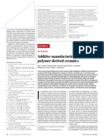 Additive manufacturing of polymer-derived ceramics