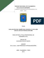 Tesis Bim Eval. Diseño Hosp. II-2 Jaen