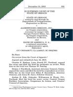 State of Oregon v. Alderwoods (Oregon), Inc., No. SC062766 (Or. Dec. 31, 2015)
