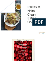 Pilates at Nolte Clean Eating Challenge Guide