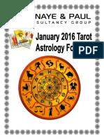 January Astro Forecast 2016