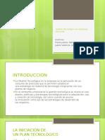 Gestión Tecnológica en Empresas Peruanas