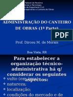 3a Aula Oraganização Técnico Administrativo