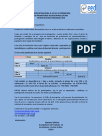 Convocatoria Promotor@s Descentralizacion y Participacion Ciudadana