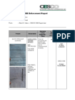 Hse Enforcement Report - May 24, 2014
