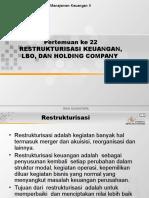 Manajemen Keuangan Mergers Corporate