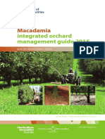 Manejo Integrado de Cultivo de Macadamia, Manual en Ingles